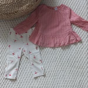 Old Navy Baby Girl Ballerina Outfit